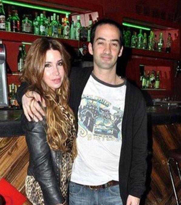Con el músico Mariano Otero. la relación se terminó en 2012.
