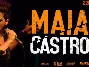 """Maia Castro en un show donde repasa su repertorio y presenta """"Quinto"""""""
