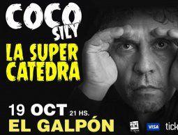 Vuelve a Uruguay el humorista argentino Coco Sily