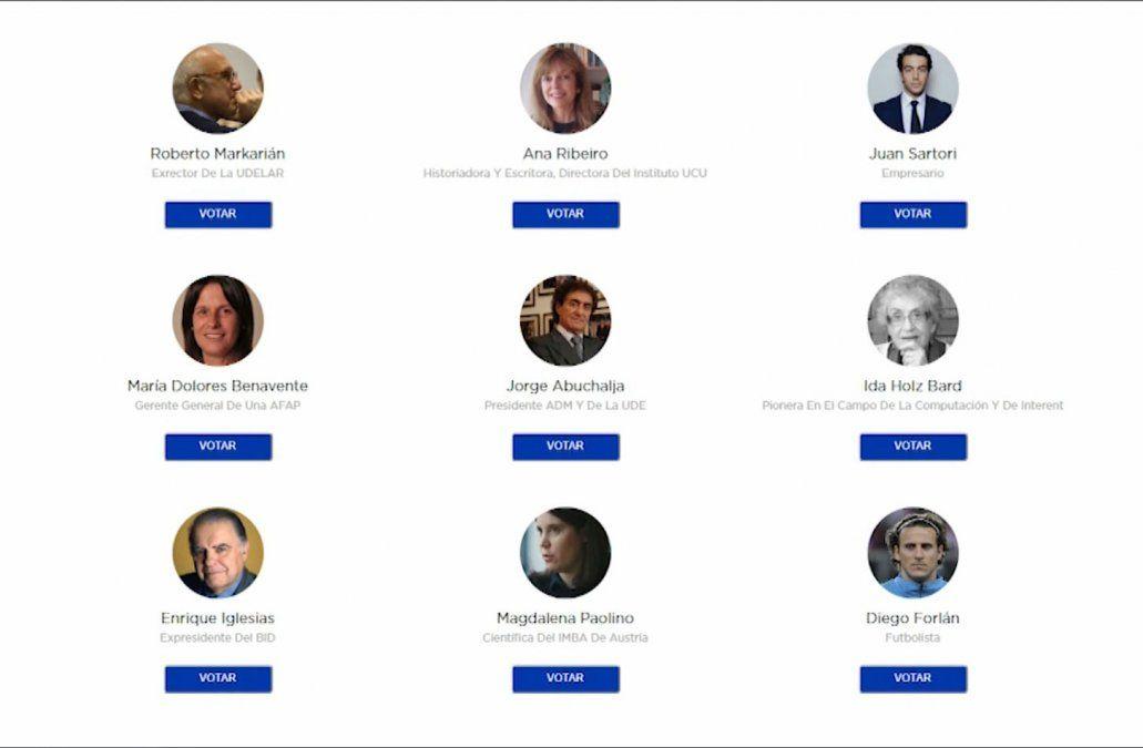 Uruguayos por el cambio busca candidato presidencial y abre la votación vía web