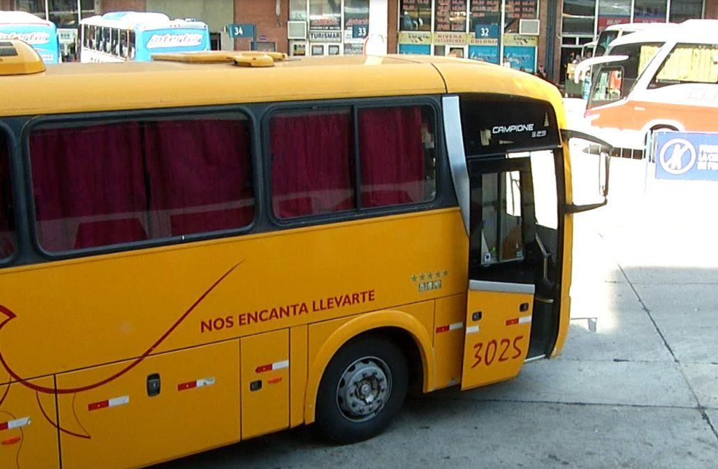 Habrá paro de ómnibus interdepartamentales este viernes por envíos a seguro de paro