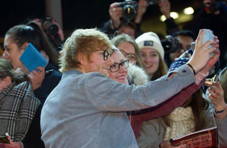 El británico Ed Sheeran tocará en el Centenario el  20  de febrero