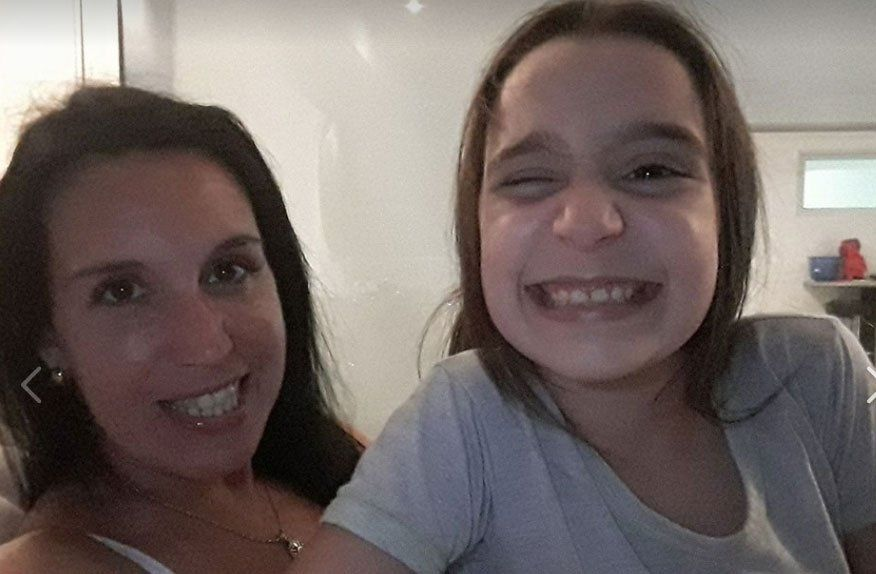 Laura y Federica