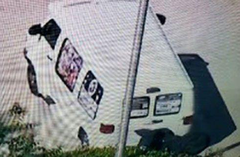 la camioneta incautada tras la detención