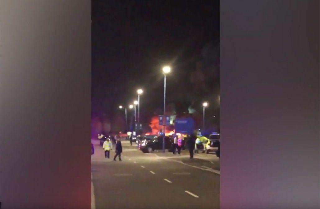 Se estrelló y se incendió el helicóptero del dueño del club Leicester de Inglaterra