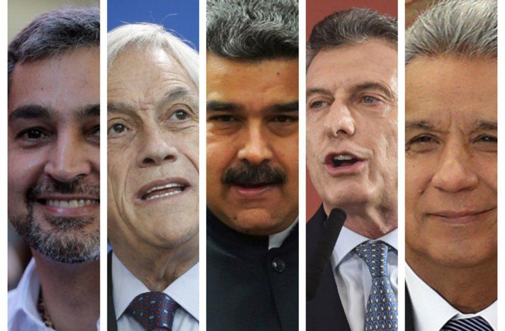 Presidentes de todos los signos políticos felicitaron a Bolsonaro
