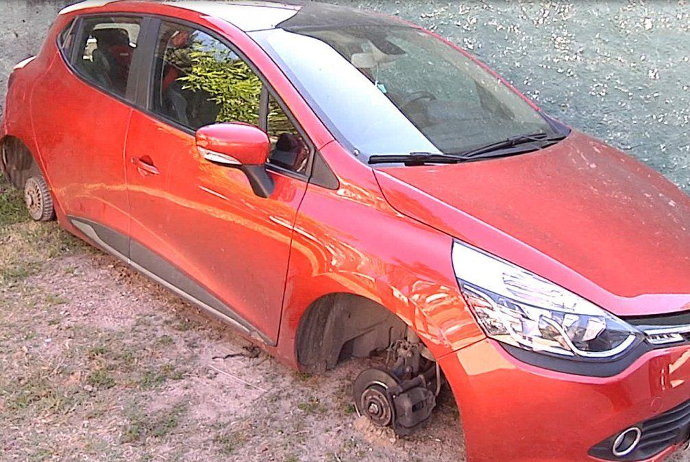 Vecinos de Punta Gorda en alerta por robo de ruedas de autos