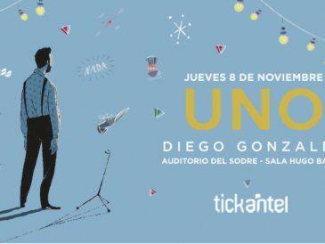 """Diego González presenta """"Uno"""" en el Auditorio del Sodre"""