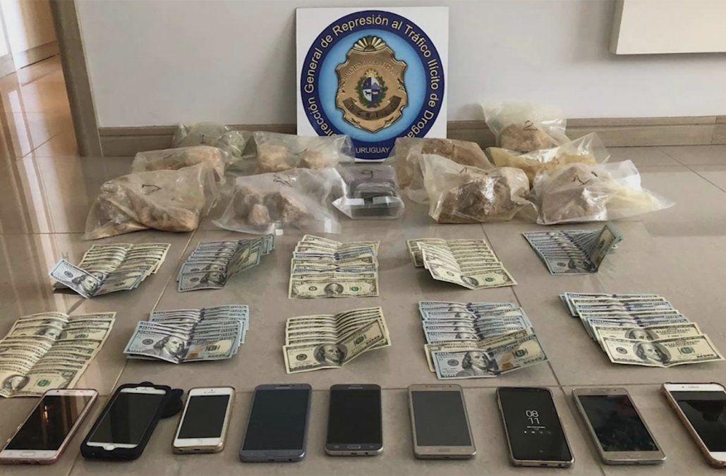 Incautaron importante cargamento de metanfetaminas por US$ 120.000; hay 5 detenidos