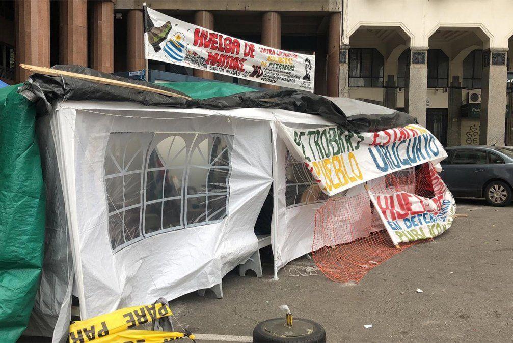 Trabajadores del sindicato del gas van 15 días de huelga de hambre