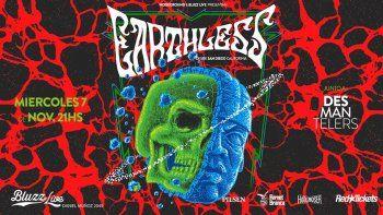 Earthless, de gira por Latinoamérica, llega a Bluzz Live en noviembre
