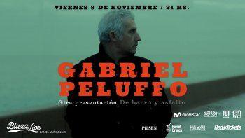 Gabriel Peluffo en un show íntimo con repertorio de Tangos y Milongas