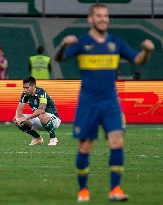 Benedetto vuelve a castigar a Palmeiras como lo hizo en Buenos Aires.