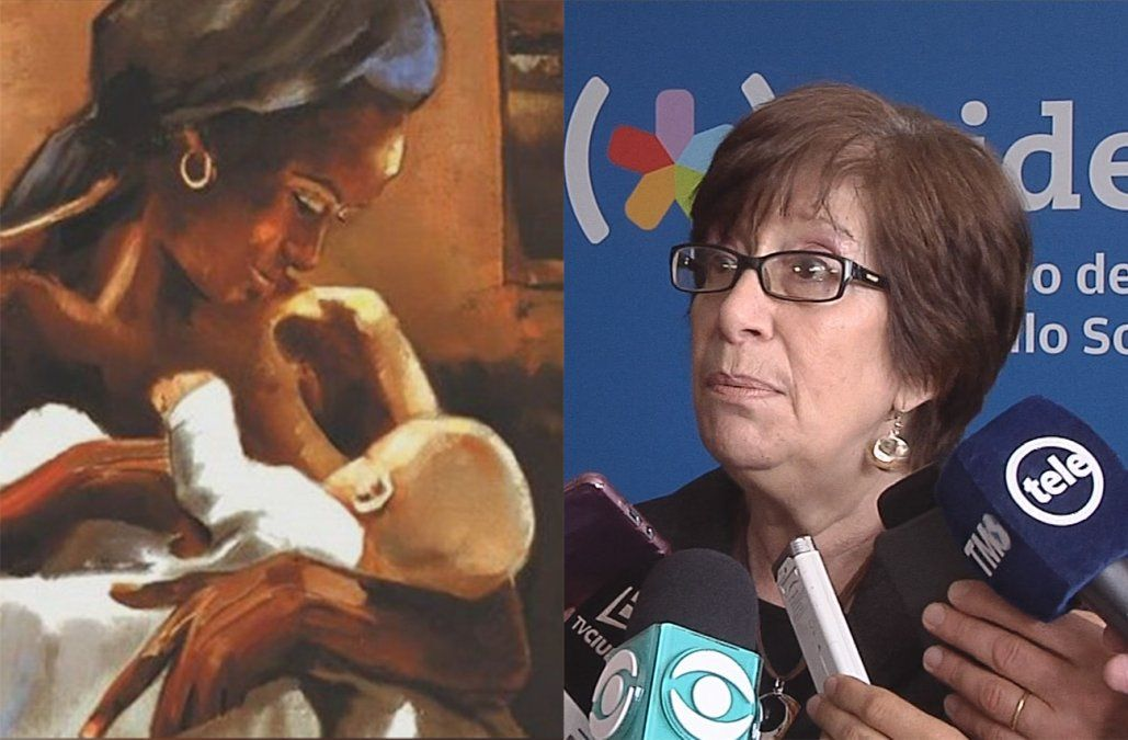 Para Marina Arismendi el afiche con el ama de leche no representa a la Patria Gaucha