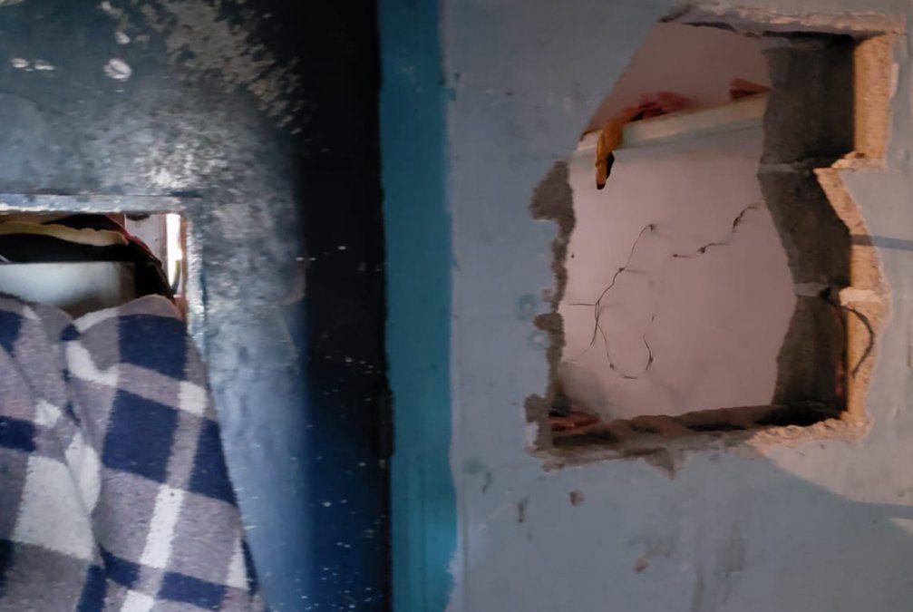 Revuelta entre bandas de reclusos en el Comcar terminó con instalaciones vandalizadas