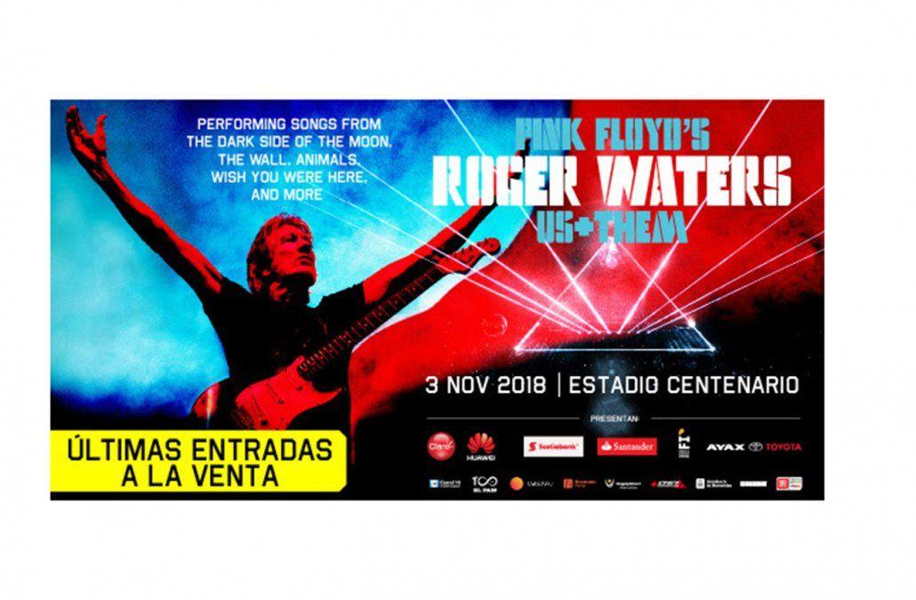 Cómo será el recital de Roger Waters en el Estadio Centenario