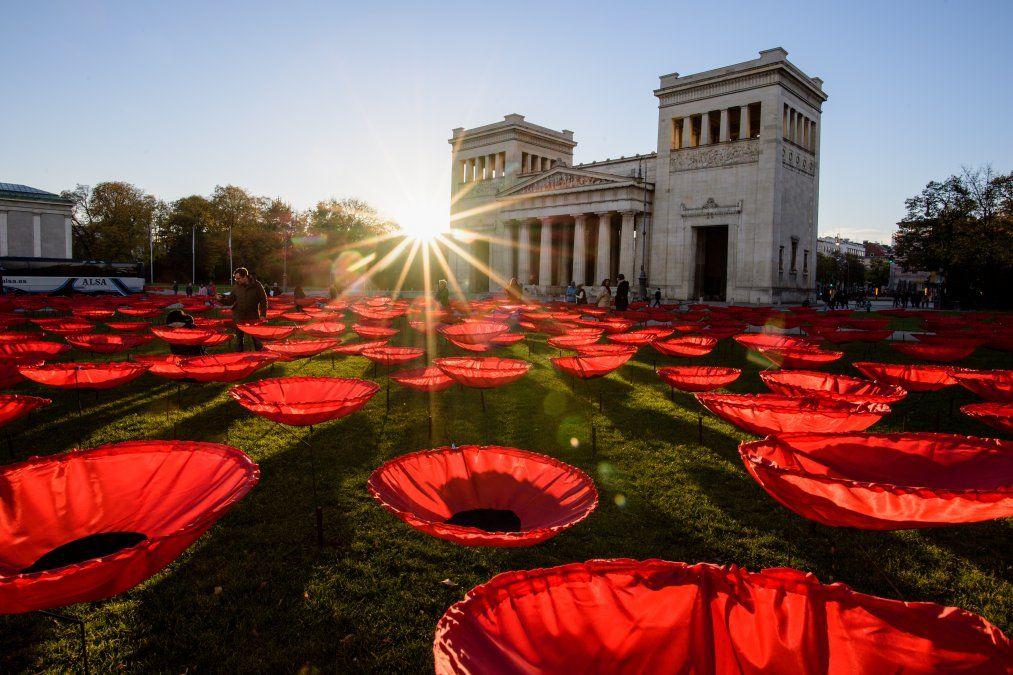 Una movida llamada Nunca más se instala en Munich cuando se acerca el centenario del final de la Primera Guerra Mundial.