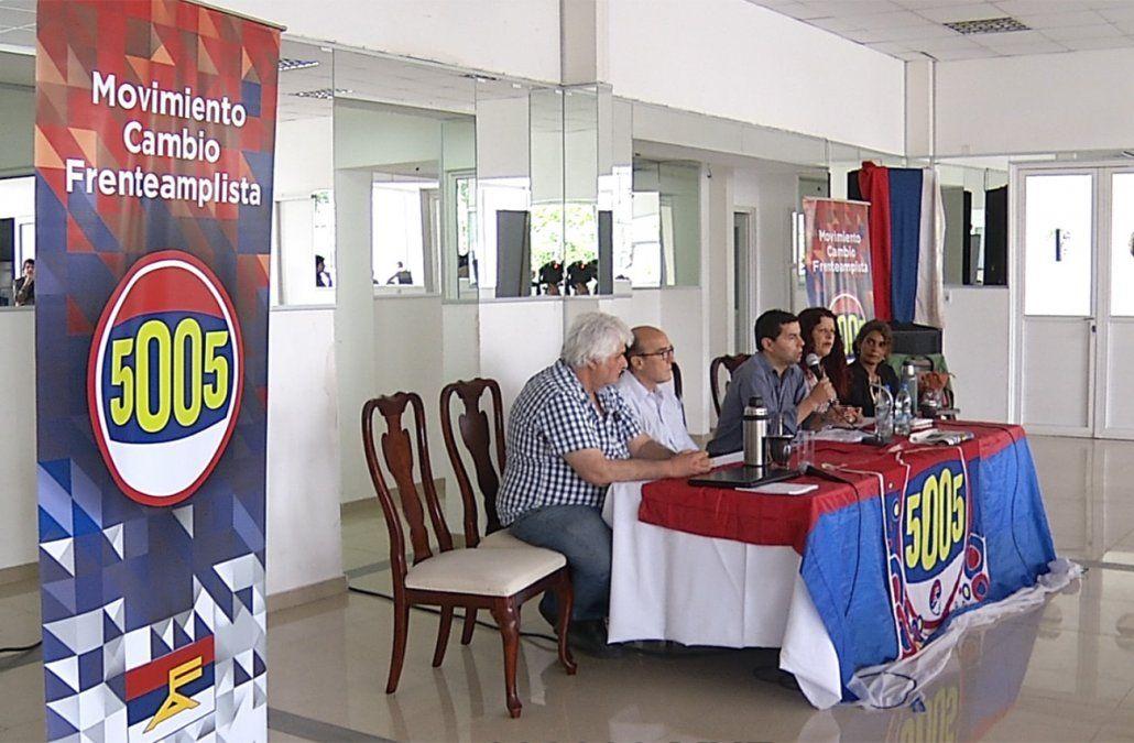 Daniel Martínez sumó el apoyo de otra agrupación a su precandidatura
