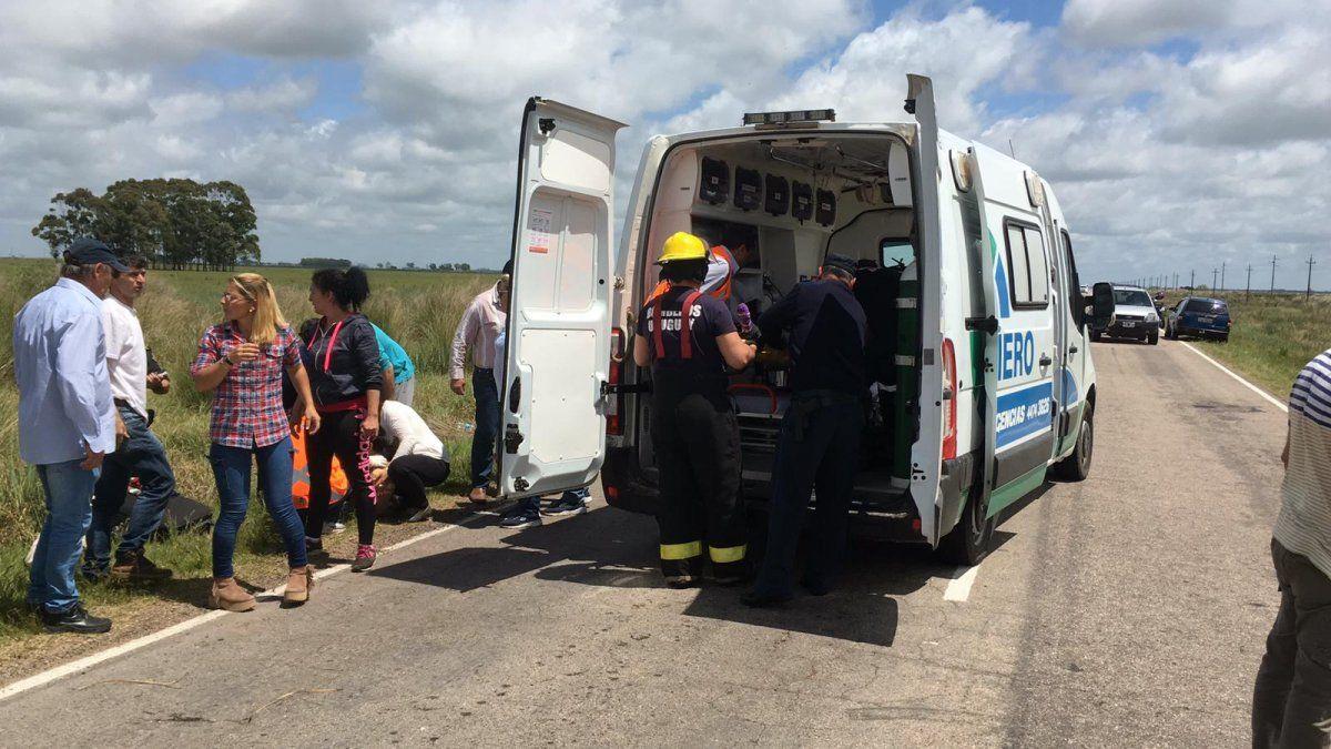 Niño de 2 años murió en vuelco en Rocha; su madre sufrió graves heridas