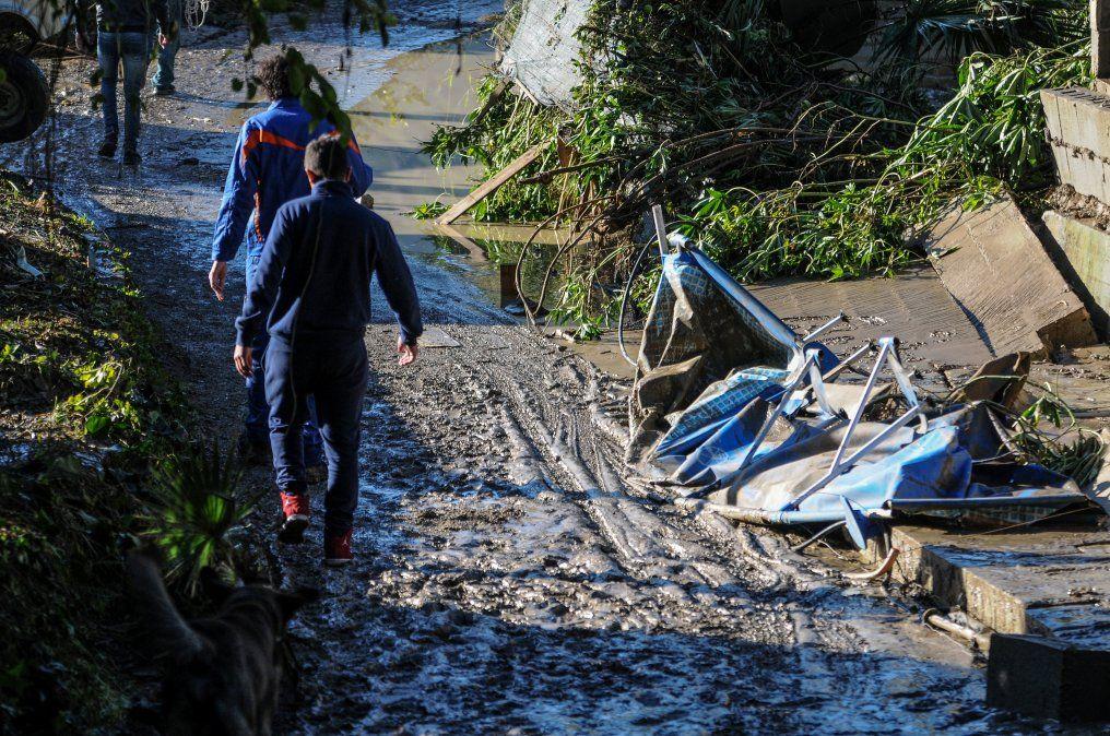 Inundaciones en Italia dejaron 12 fallecidos