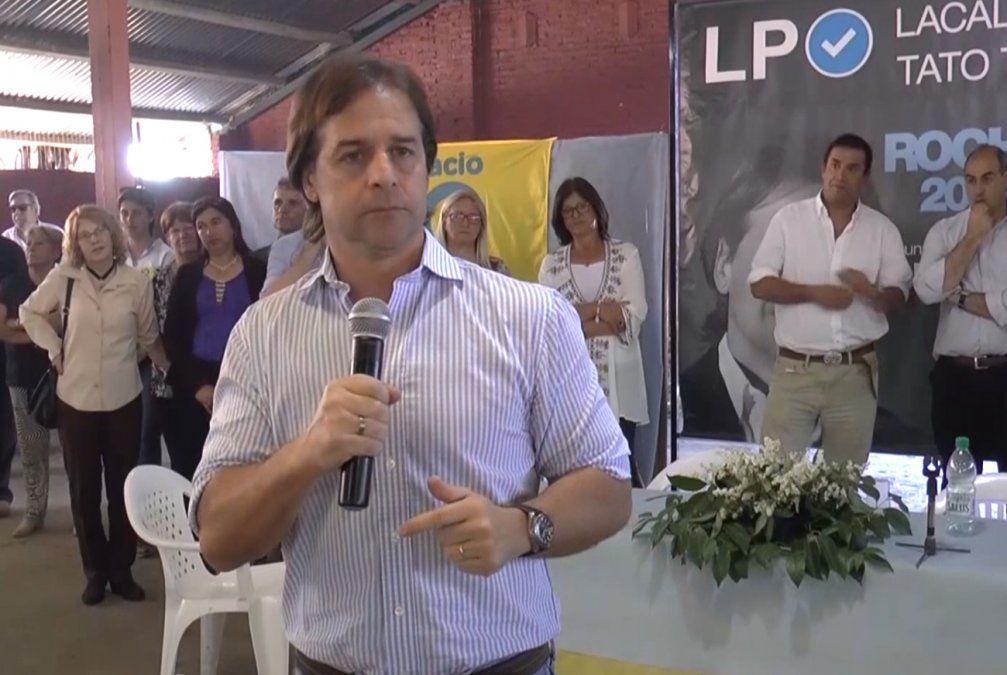 Lacalle Pou dijo que declaraciones de Miranda sobre Brasil dividen a la sociedad