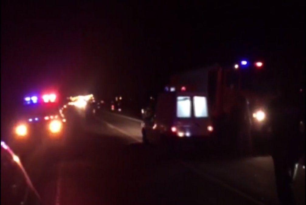 Una niña de 3 años fallecida y varios heridos en accidente de tránsito en Maldonado