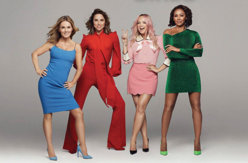 Sin Victoria Beckham, las Spice Girls se reúnen para una gira por Reino Unido