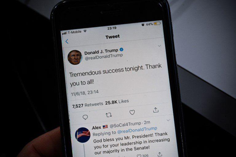 El mensaje optimista vía Twitter del presidente estadounidense. Lo consideró una victoria personal