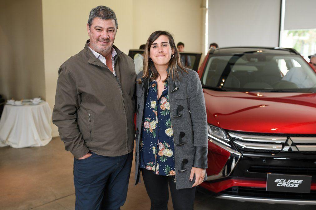 Gabriela Dourado y Walter Ramos