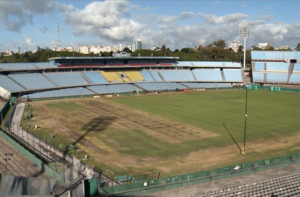 El 75% de la cancha del Estadio Centenario está en buenas condiciones, dijo experto de CAFO