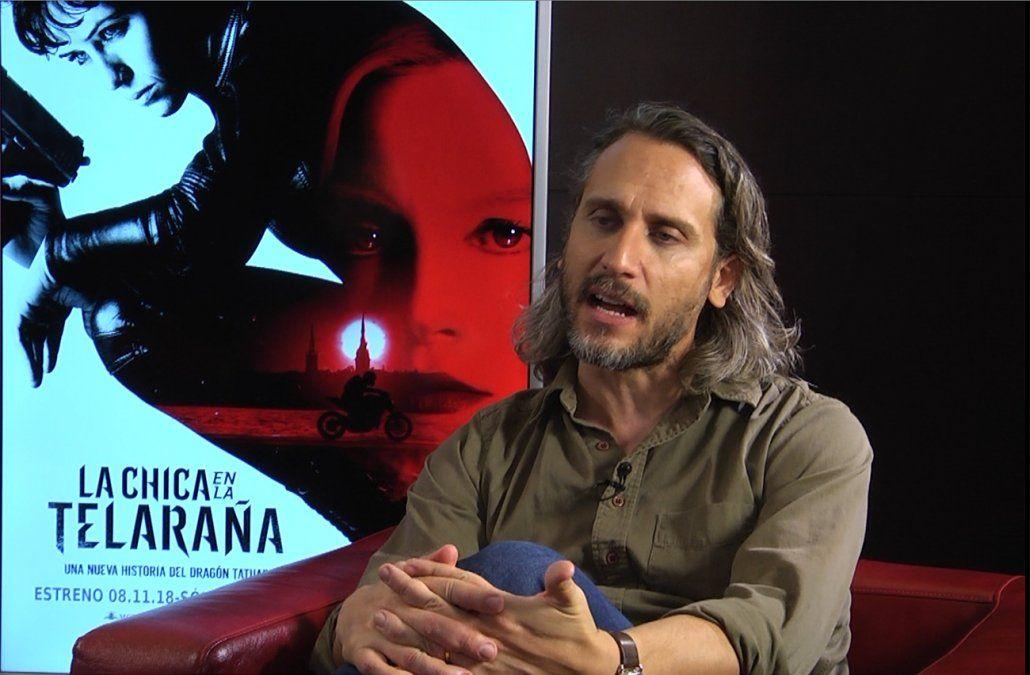 El uruguayo Fede Álvarez estrena su nueva película de la saga Millennium
