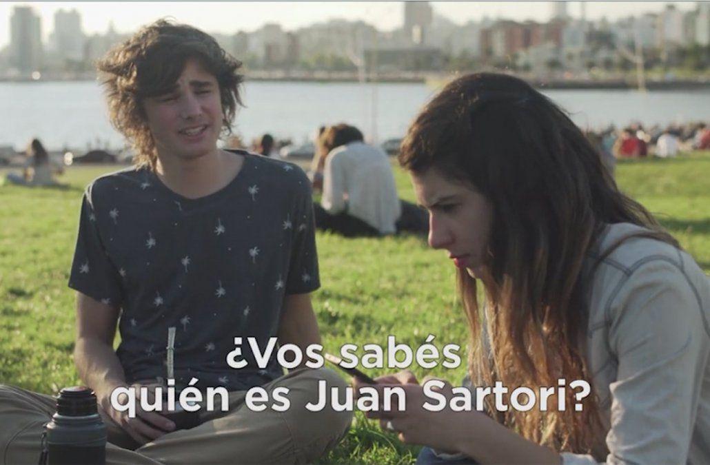 Juan Sartori lanzó una campaña de expectativa para preparar su candidatura
