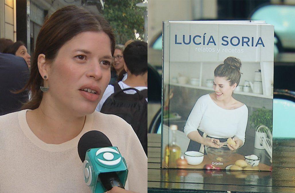 Relatos y Recetas, el primer libro de cocina de Lucía Soria