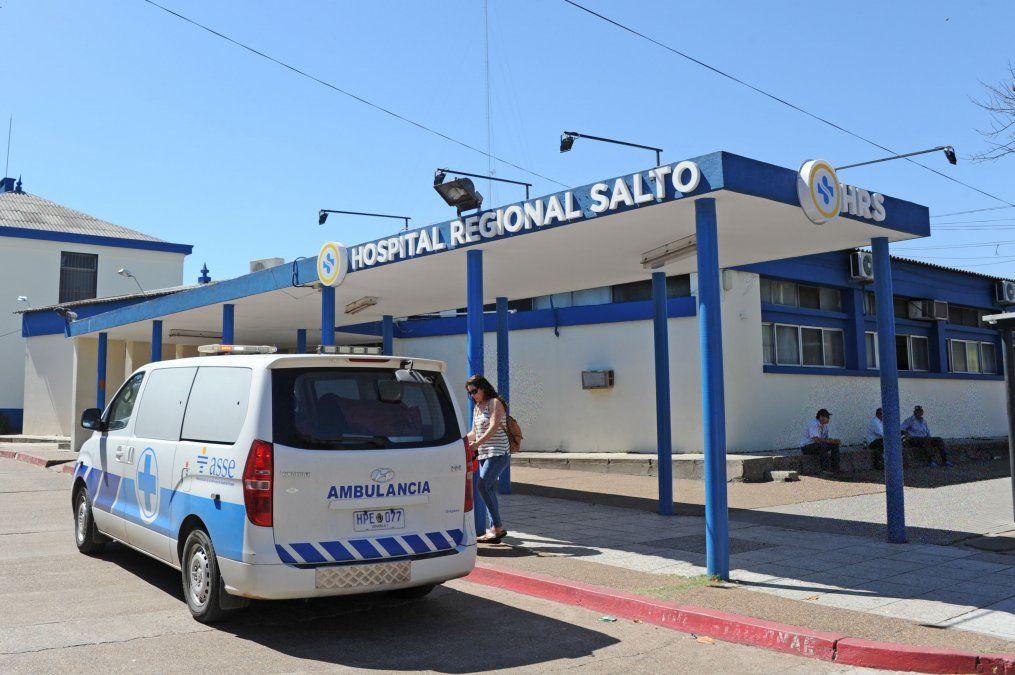 La víctima fue internada en el Hospital Regional de Salto