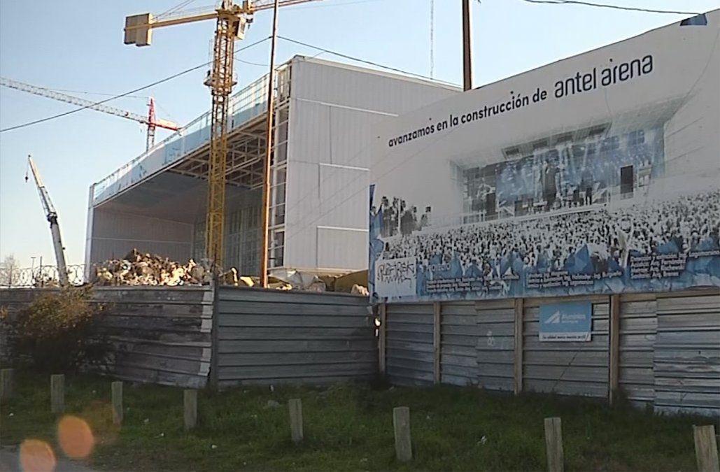Inspección mantuvo clausura en zona del Antel Arena donde se accidentó un trabajador