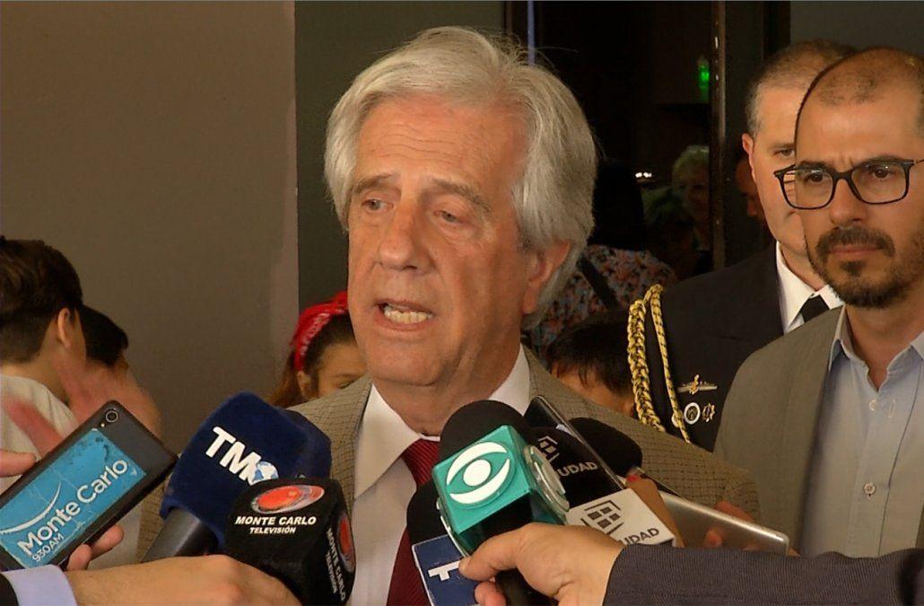 Uruguay no podía negarse al pedido de ingreso de tropas extranjeras, dijo Vázquez