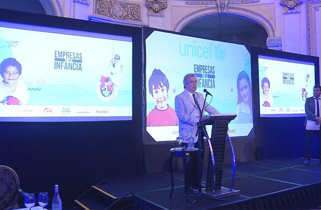 Unicef distinguió a Canal 10 por su compromiso con la infancia