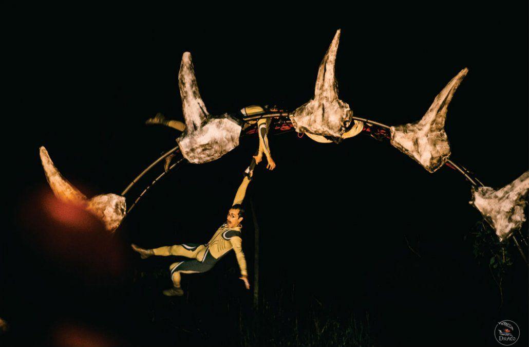 Teatro Sobrevuelo presenta Draco