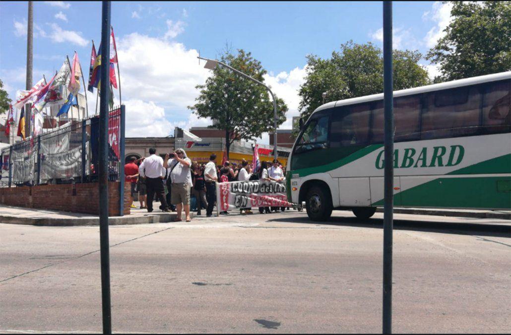 FOTO: Publicada en Twitter por la Asociación Nacional de Empresas de Transporte Carretero por Autobus.
