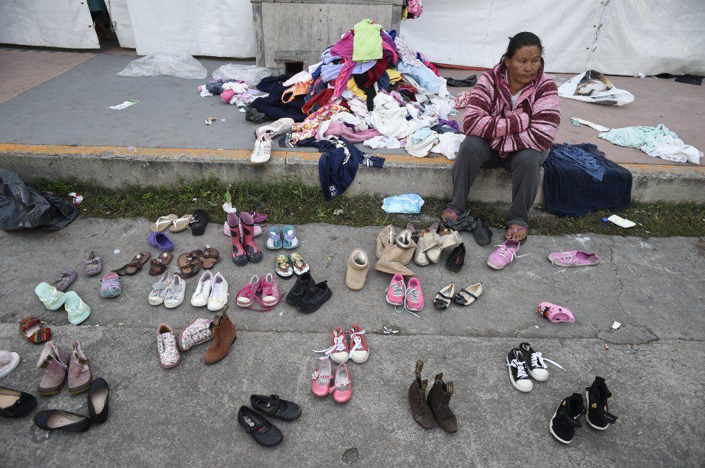 Más imágenes de la caravana de migrantes hacia Estados Unidos