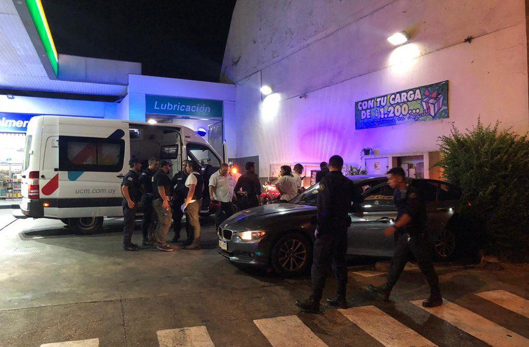 Un delincuente murió en un tiroteo con la Policía en una estación de servicio