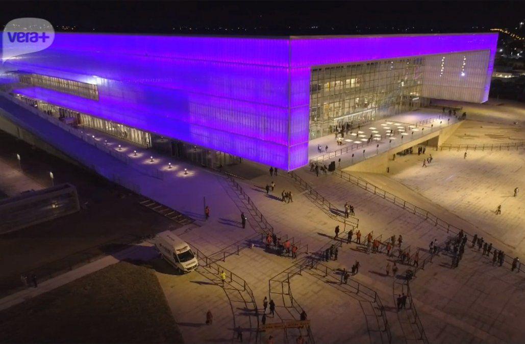 Quedó inaugurado este lunes el Antel Arena