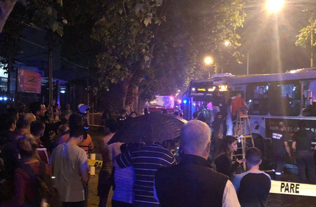 Choque frontal entre dos ómnibus de Cutcsa dejó 35 heridos