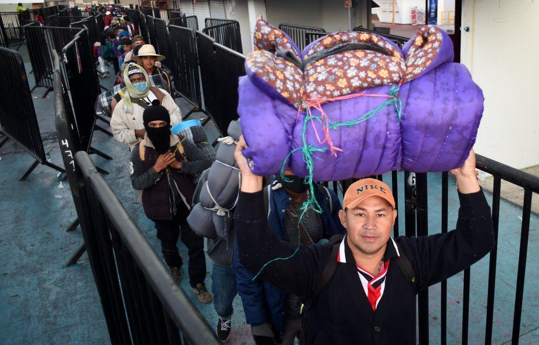 El objetivo es que el gobierno estadounidense les otorgue el estatus de refugiados debido a la extrema violencia y pobreza que viven en sus países