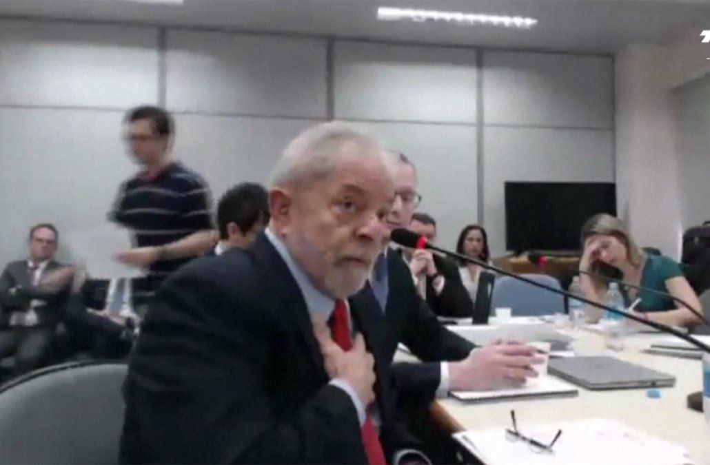 Lula declaró ante la Justicia y dijo que fue el trofeo del Lava Jato