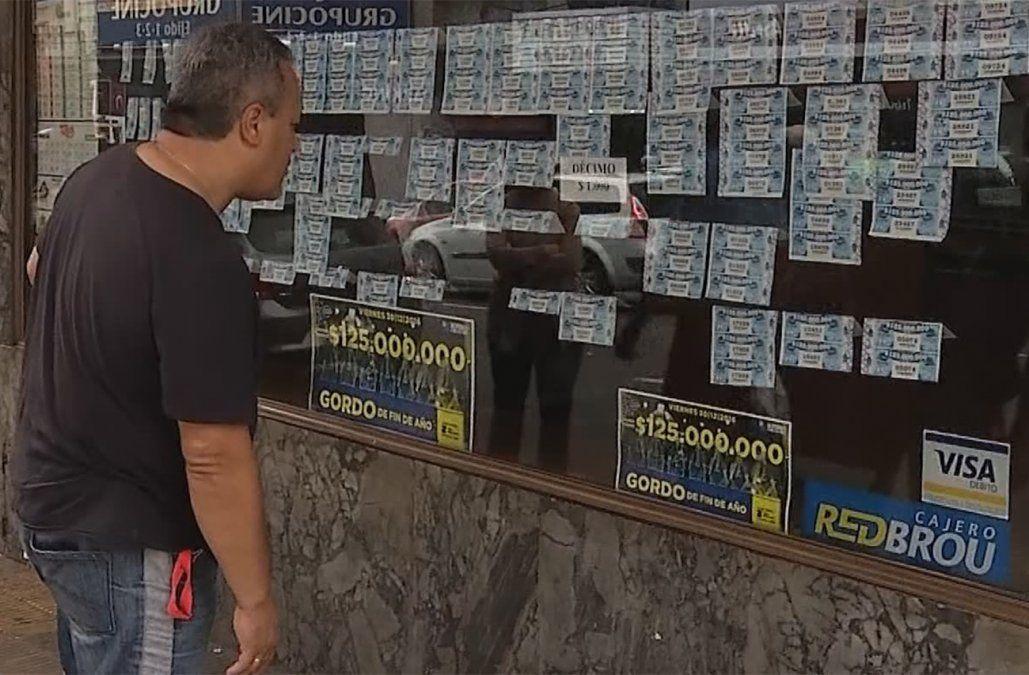 Este viernes sale a la venta el Gordo de Fin de Año con un premio mayor de $ 130 millones
