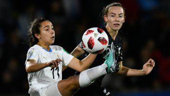 Uruguay perdió 2-1 ante Nueva Zelanda por el Mundial Femenino Sub 17