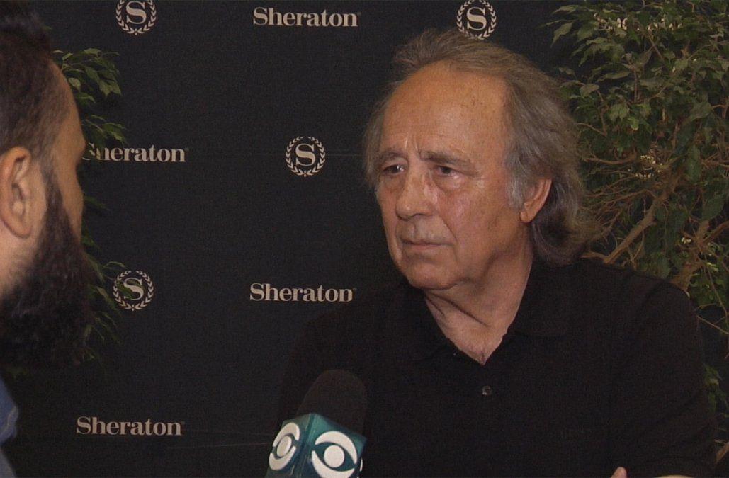 Joan Manuel Serrat se presenta este sábado en el Antel Arena