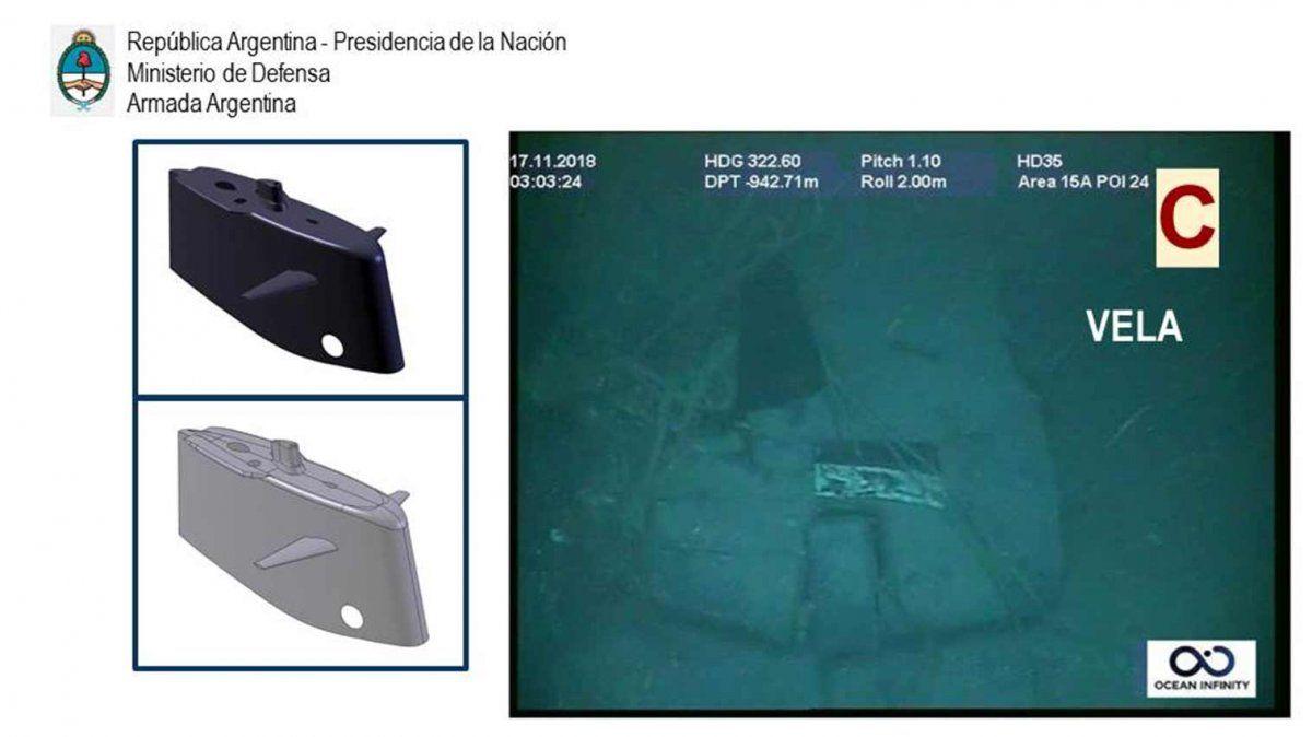 Las primeras fotos del submarino ARA San Juan en el fondo del océano