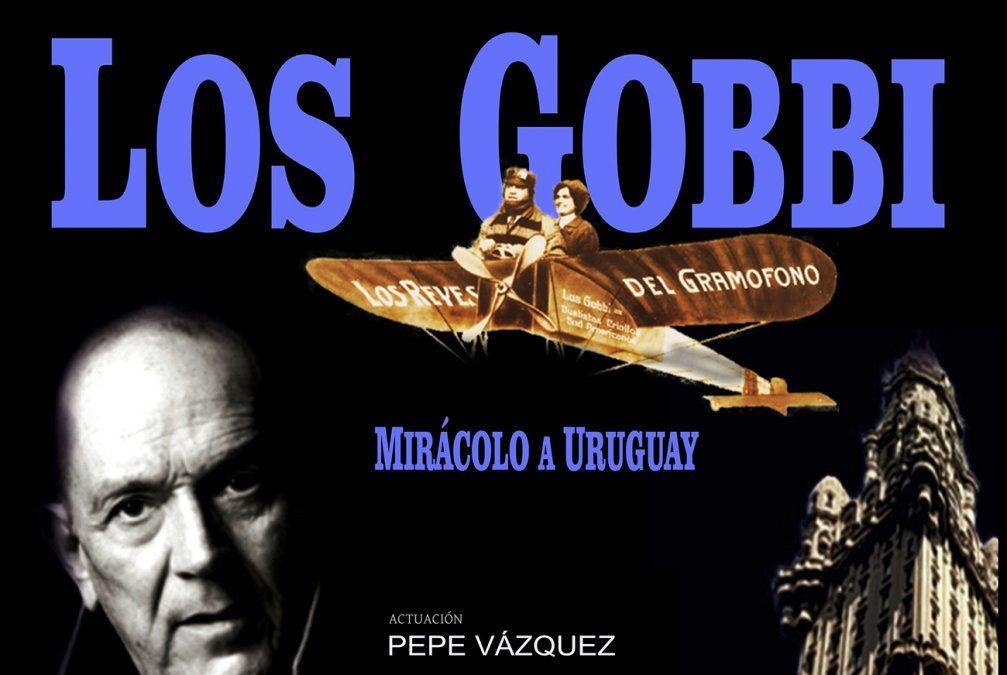 Los Gobbi Mirácolo a Uruguay, con  Pepe Vázquez y La Mufa tango instrumental
